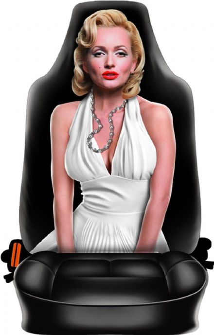 Marilyn Novelty Front Car Seat Back Cover
